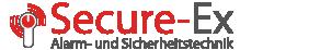 Logo Secure-EX – Alarm- & Sicherheitstechnik